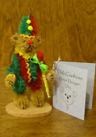 "DEB CANHAM Artist Designs BOPP Jesters And Clowns Coll. 3.25""  LE mohair"