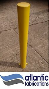 140 mm steel bollard, security parking post, concrete in - various colours new