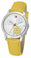 Tommy Hilfiger - 1780756 Stainless Steel Case Fashion Leather Band Women Watch