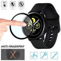 2Pack 3D Curved PET Full Cover For Samsung Galaxy Watch Active Screen Protectors