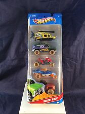 Hot Wheels DESERT RACE 5 Pack 2011 - New