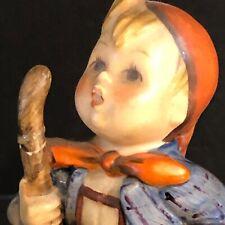 Hummel Goebel Figurine Vintage Bee Mark Western Germany Boy With Walking Stick