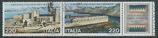 1980 ITALIA USATO BLOCCO LAVORO ITALIANO NEL MONDO - D3-3