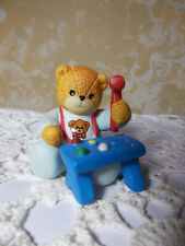 Enesco Lucy & Me Bear Figurine-Pound-A-Peg Bear-1995