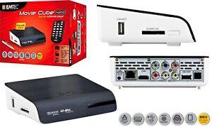 Multimedia Player Full HD 1080p EMTEC Movie Cube N200 SET TOP BOX