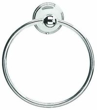 Croydex Westminster Chrome Silver Bathroom Towel Ring qm201541