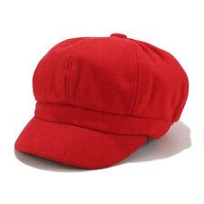 Vintage Women Hat Winter Solid Beret Cap Korean Painter Newsboy Berets Hat ZG