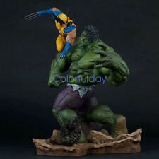 Hulk Vs Wolverine Statue Avengers Collectibles PVC Model IN BOX Limit IN STOCK