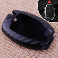 Carbon Fiber Auto Remote Keyless Key Shell Cover Case Fob Fit For Mercedes Benz