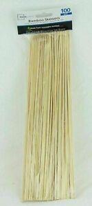 Mainstays Bamboo Skewers  1 Pack of 100 Skewers