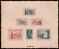 Monaco #YTPA22-YTPA27 MNH EPL Proof CV€535.00 1947 Air Post Collective [C16-C21]