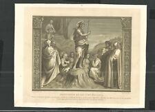 Lamina  antique de Jesus santino image pieuse estampa