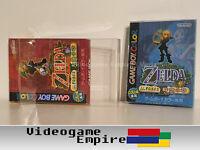 5x Schutzhüllen Game Boy Color NTSC-J Japan OVP / Hüllen / Box Protector