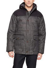 NWT Woolrich Mens Bitter Chill Wool Loft Oxford Grey Parka Size XXL MSRP $ 349