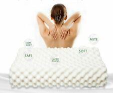 Pure Natural Latex Pillow Remedial Neck Protect Vertebrae Health Care Orthopedic