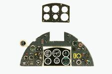 TYPHOON M.IB  PHOTOETCHED, 3D, COLORED INSTRUMENT PANEL TO AIRFIX#4849 1/48 YAHU
