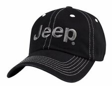 NEW BLACK JEEP COMPASS WRANGLER WILLYS RUBICON GRAND CHEROKEE RENEGADE HAT CAP!