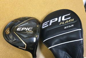 Callaway Epic Flash Star Driver 12' 🔥 Attas A-Flex. New Winn Grip 🔥 9.5/10 🔥