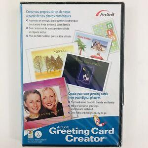 Arcsoft Greeting Card Creator for Microsoft Windows XP/Macintosh OS