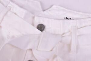 GRLFRND NWT 100% Cotton White Jeans Size 25W $238