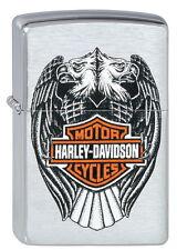 ZIPPO Feuerzeug Harley Davidson EAGLES Motorrad Biker Adler NEU OVP