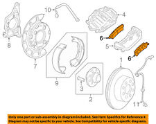 GM OEM Brake-Rear Pads 20829195