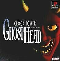 USED PS1 PS PlayStation 1 clock tower ghost head