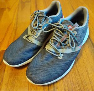 New Balance District Run V1 CUSH Running Shoes Grey MDRNSG1 Men's Size 12