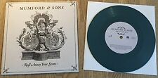 "MUMFORD & SONS - Roll Away Your Stone 7"" LIMITED DARK GREEN VINYL"
