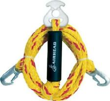 New Tow Rope Heavy Duty Harnes Tube Towable Pulling Boat Ski 12ft