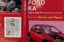 Ford Ka Service and Repair Manual by A. K. Legg (Hardback, 2002)