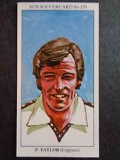 LE SOLEIL soccercards 1978-79 - Peter Taylor - ANGLETERRE #179