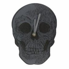 Skull Wall Clock - Dark Skeleton Wicca Mystic Pagan Gothic Home Decor