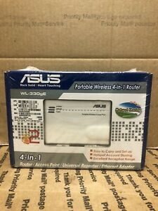 ASUS WL-330GE Portable 4-in-1 Wireless Router Hotspot Sharing