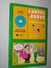LAUREL & HARDY LIVRE DISQUE  FRANCE LARRY HARMON
