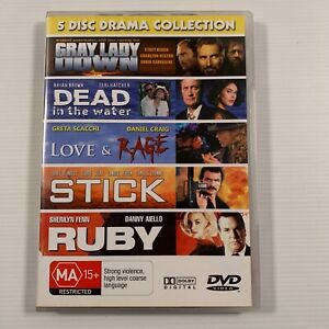 5 Disc Drama Collection (DVD) Daniel Craig Bryan Brown Region ALL