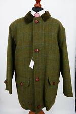 Harris Tweed Herbst Winter Mantel Jacke Gr.58 100% Schurwolle NEU mit Etikett