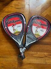 *Brand New* Wilson Ripper Titanium Strength Racketball Rackets - Set Of 2