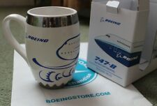 More details for boeing 747-8 ceramic engine mug - brand new and boxed