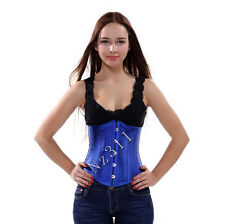 Burlesque Corset Basque Cincher Lingerie Bustier Underbust Body Waist Shaper Hot