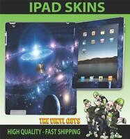 Apple Ipad 2 , 3 ,3G, 4G & Wifi Adhesivo de Vinilo Espacio Planetas Estrellas