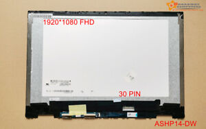 14.0 FHD LCD Touch screen Assembly for HP X360 Convertible 14-dw 14-DW1010TU