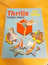 THRILLS BUMPER  ANNUAL FOR GIRLS 1968 VERY GOOD CONDITION POST FREE