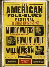 AMERICAN FOLK-BLUES FESTIVAL: THE BRITISH TOURS 1963-1966 [DVD NTSC/1 NEW]