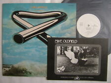 PROMO WHITE LABEL / MIKE OLDFIELD TUBULAR BELLS / PROMO BOOKLET  COME WITH PROMO