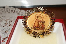 """1986 The Hummel Gold Christmas Ornament Collection """"The Renewal"""""""
