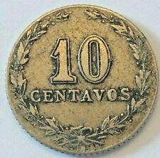1896 Argentina 20 Centavos ~ KM#36 Argentine