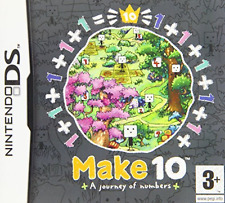 NDS-Make 10: A Journey Of Numbers /NDS  GAME NEW
