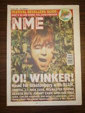 NME 1994 JUN 25 BLUR OASIS JOHNNY CASH BEASTIE BOYS L7
