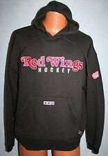 DETROIT RED WINGS NHL Center Ice CCM Pullover Hoodie SWEATSHIRT Medium HOCKEY